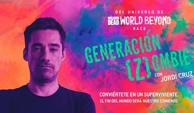 Jordi Cruz presenta la nnueva campaña promocional para el spin off the The Walking Dead