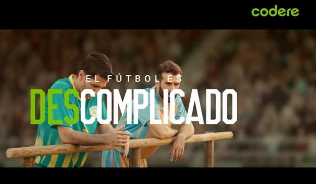 """La nueva campaña de Codere dice que apostar es """"descomplicado"""", como el fútbol"""