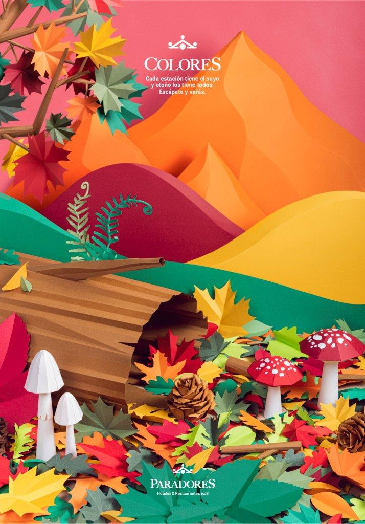 """""""Colores"""", nueva campaña otoñal de Paradores"""