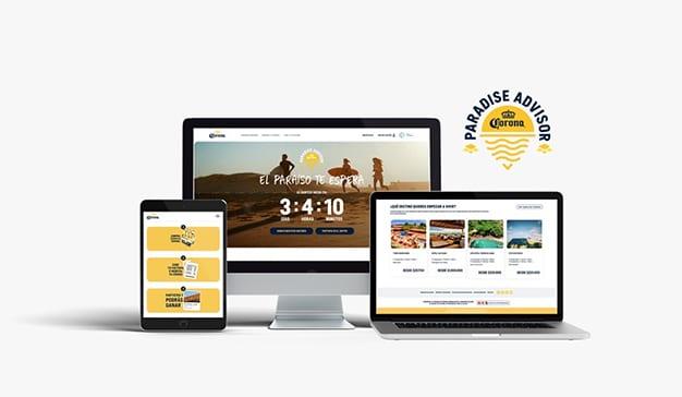 """Corona lanza """"Paradise Advisor"""", su plataforma de viajes en Colombia"""