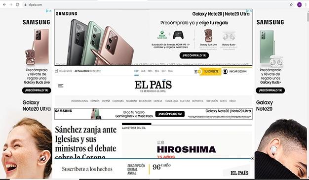 El País Samsung