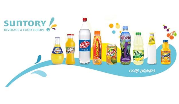 Suntory Food & Beverage Spain es el nuevo nombre para el mercado español del grupo Sutory