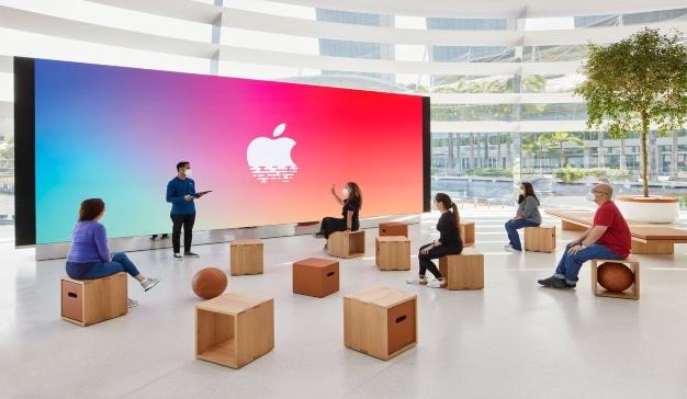 apple cupula tienda