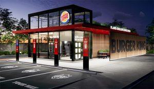 Burger King se asoma al futuro de sus restaurantes (donde el automóvil será el rey)
