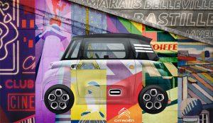 Citroën declara su amor sobre ruedas a París en esta chispeante y colorista campaña