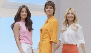 Sara Carbonero, Macarena García y Cayetana Guillén Cuervo, protagonistas de la nueva campaña de Elvive