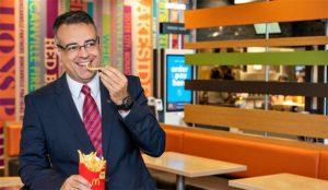 Luis Quintiliano se pone al timón de McDonald's en España