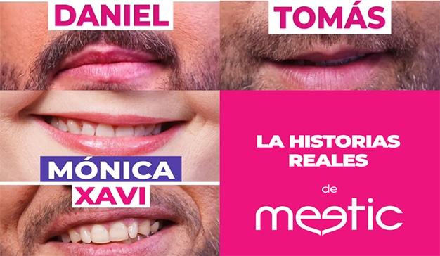 Meetic lanza una nueva campaña promocional con historias reales