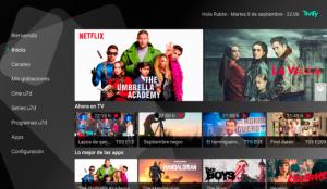 Esta plataforma recién salida del horno ordena el infinito contenido disponible en televisión y servicios de streaming