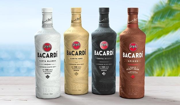 Bacardí colabora con Danimer Scientific y envasará sus destilados en botellas bio