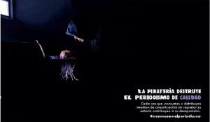 AMI y CEDRO, unidos contra la piratería digital de periódicos en su nueva campaña