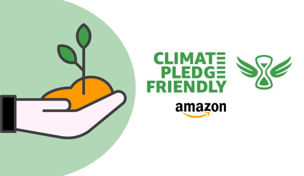 Iniciativa Climate Pledge Friendly de Amazon para productos sostenibles