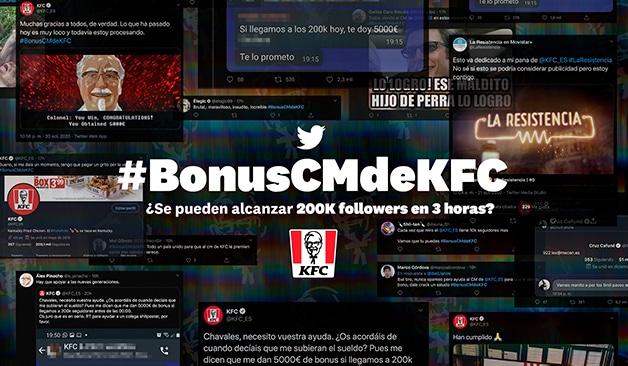 KFC seguidores