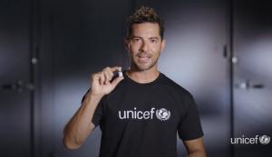 #PequeñasSoluciones, la nueva campaña de vacunación de UNICEF con David Bisbal como embajador