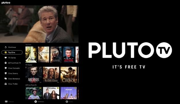 Pluto TV, nueva plataforma de streaming on demand gratuita