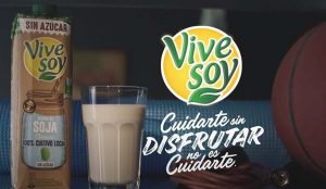 Vivesoy presenta sus nuevas bebidas vegetales sin azúcar con la campaña 'Cuidarse sin disfrutar no es cuidarse'