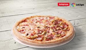 Telepizza presenta ElClásico, una pizza exclusiva que rinde homenaje al partido de fútbol de este sábado