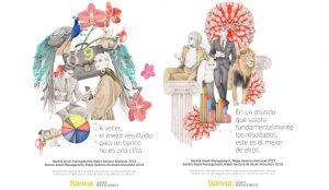 Bankia convierte su nueva campaña en arte junto a la ilustradora Carmen García Huerta