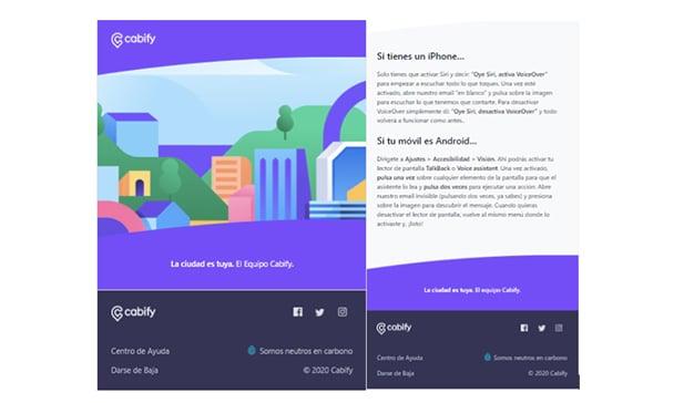 cabify app actualización