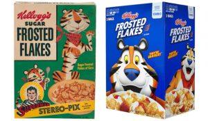 La crujiente evolución en el tiempo de marcas de cereales de ayer y hoy