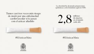 Consumo advierte con esta impactante campaña sobre los riesgos de la obesidad y el abuso del azúcar