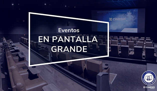 eventos en pantalla grande