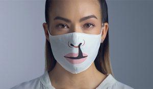 Las mascarillas de esta campaña alertan de un problema que nada tiene que ver con el COVID-19