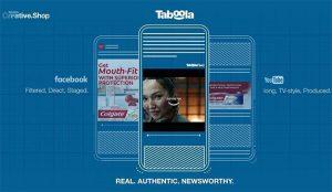 Taboola Creative Shop sale del cascarón con el último objetivo de optimizar campañas