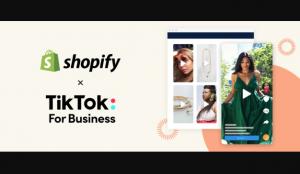 TikTok apuesta por el social commerce y se asocia con la plataforma de e-commerce Shopify