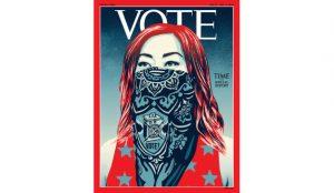 La revista Time cambia el logo en su próximo número con motivo de las elecciones en EE.UU.