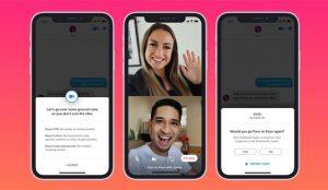 Las videollamadas llegan por fin a Tinder para echar una mano a Cupido en tiempos de COVID-19
