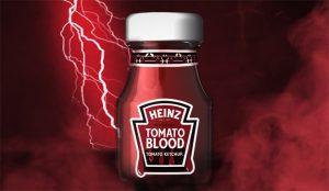 Heinz le hace el regalo más espeluznantemente sangriento en Halloween: Tomato Blood