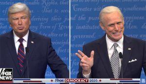 Jim Carrey y Alec Baldwin dan un desternillante vuelta de tuerca al duelo televisivo de Biden y Trump