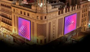 El 3D llega al medio exterior en España de la mano de Callao City Lights y BCN Visuals
