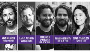 El Ojo 2020 anuncia nuevos conferencistas: Nino Goldberg, Rafael Pitanguy, Gian Carlo Lanfranco, Rolando Cordova y Diana Evangelista