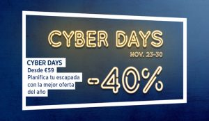 Llegan los Cyber Days a NH Hotel Group con descuentos de hasta un 40% para disfrutar hasta la primavera de 2021