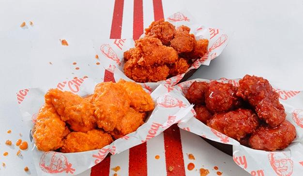 KFC permite comprar comida calle con food trucks autónomos