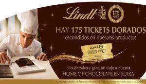 Lindt & Sprüngli conmemora su 175 aniversario escondiendo 175 tickets premiados en sus productos