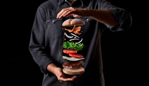 Hamburguesa Big Good de Mcdonald's en apoyo al sector primario