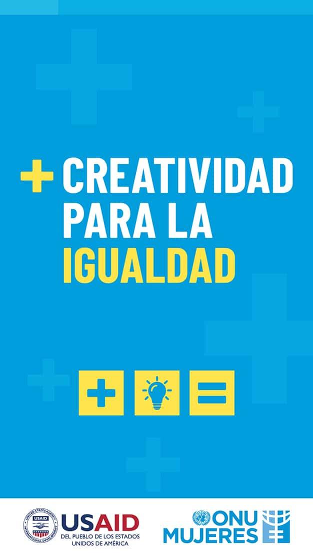 +Creatividad para la igualdad