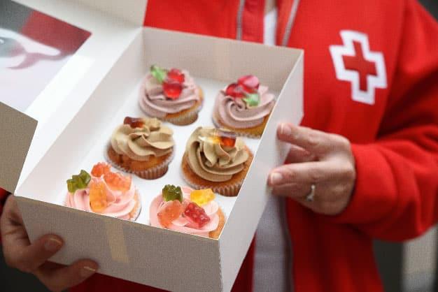 Cupcakes solidarios de Alma Obregón para el aniversario de Haribo