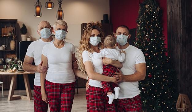 Navidades de decorar el hogar y rutinas de confinamiento