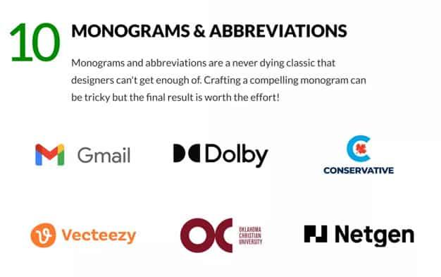 logos monogramas