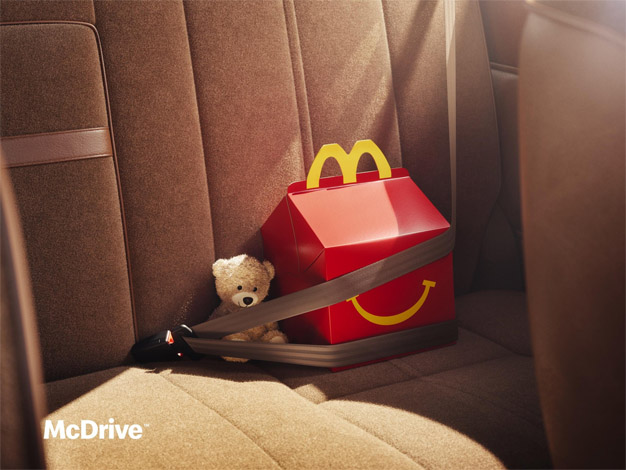 McDonald's McDrive Happy Meal TBWA Paris