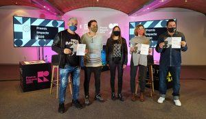 Hola Luz, Damm, Nandu Jubany y Jordi Herreruela ganadores de los Premis Impacte 2020
