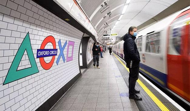 PlayStation PS5 metro de Londres