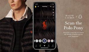El icónico jinete a caballo del logo de Ralph Lauren cobra vida en una campaña en Snapchat