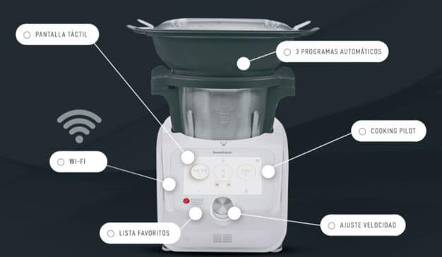 Foto del robot de cocina Monsieur Cuisine de Lidl