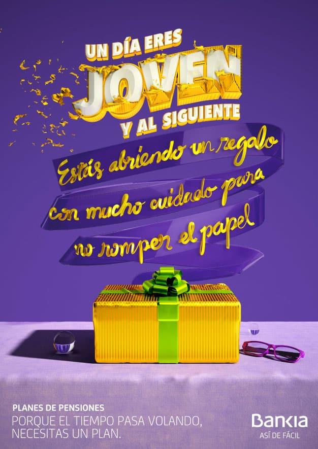 """Bankia echa mano del meme """"Un día eres joven"""" en su campaña de Planes de Pensiones 2020"""