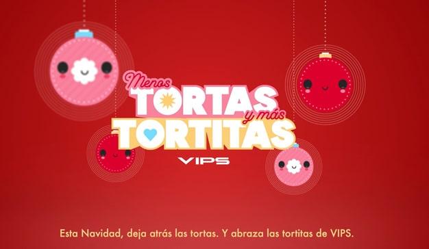 campaña navidad VIPS tortitas humor